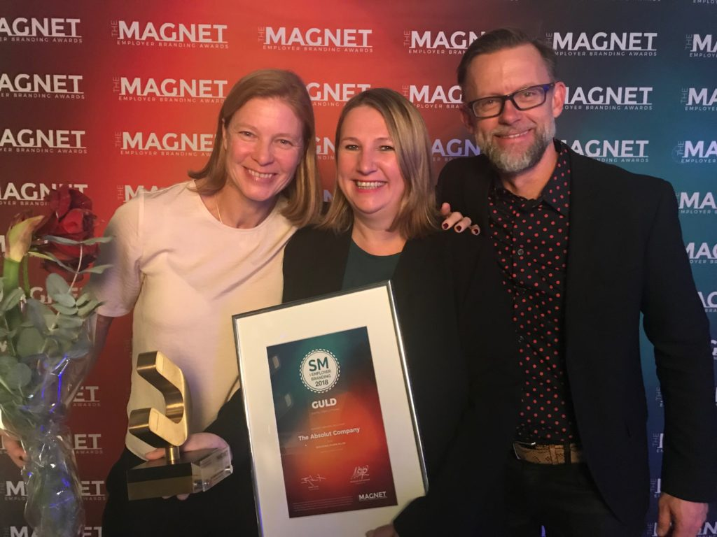 Gold for Breaking Down Silos – Magnet Employer Branding Awards